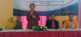 STAI Badrus Sholeh dan FKDP Gelar Klinik Artikel Ilmiah dan Proposal Penelitian / PkM
